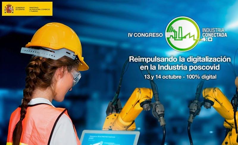El IV Congreso de Industria Conectada 4.0 se celebrará este otoño